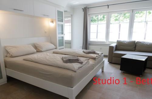 Studio mit Terrasse