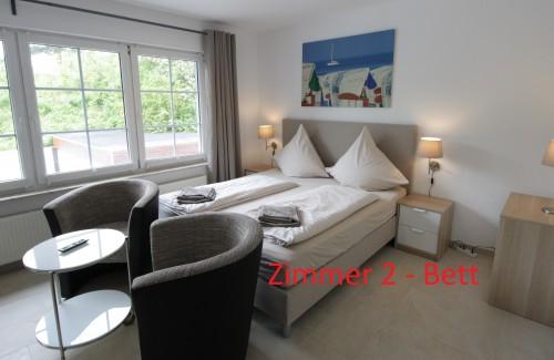 Komfort-Doppelzimmer mit Balkon und exklusivem Bad